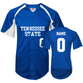 Replica Royal Adult Baseball Jersey-Personalized Softball