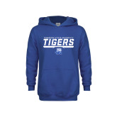 Youth Royal Fleece Hoodie-Tennessee State University Tigers Stencil