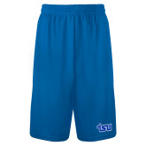 Performance Royal 9 Inch Length Shorts-TSU