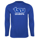Syntrel Performance Royal Longsleeve Shirt-Grandpa