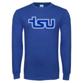 Royal Long Sleeve T Shirt-TSU