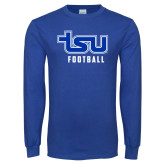 Royal Long Sleeve T Shirt-Football