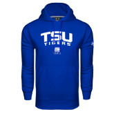 Under Armour Royal Performance Sweats Team Hoodie-Arched TSU Tigers
