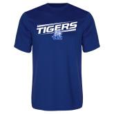 Performance Royal Tee-Tigers Slanted w/ Logo