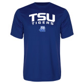 Performance Royal Tee-Arched TSU Tigers