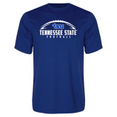 Syntrel Performance Royal Tee-Tennessee State Football w/ Ball
