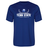 Syntrel Performance Royal Tee-Tenn State Football w/ Field