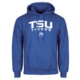 Royal Fleece Hood-Arched TSU Tigers