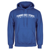 Royal Fleece Hood-Arched Tennessee State University