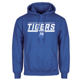Royal Fleece Hoodie-Tennessee State University Tigers Stencil
