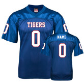 Replica Royal Blue Adult Football Jersey-Personalized