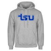 Grey Fleece Hood-TSU