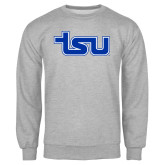 Grey Fleece Crew-TSU