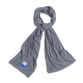 Grey Eco Jersey Bundle Up Scarf-Official Logo