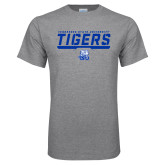 Grey T Shirt-Tennessee State University Tigers Stencil