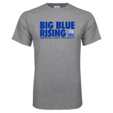 Grey T Shirt-Big Blue Rising