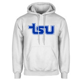 White Fleece Hood-TSU