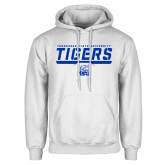 White Fleece Hoodie-Tennessee State University Tigers Stencil
