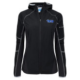 Columbia Ladies Sweet As Softshell Black Jacket-TSU