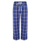 Royal/Black Flannel Pajama Pant-TSU