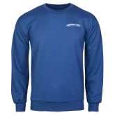 Royal Fleece Crew-Arched Tennessee State University