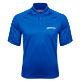 Royal Textured Saddle Shoulder Polo-Arched Tennessee State University
