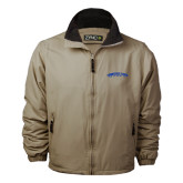 Khaki Survivor Jacket-Arched Tennessee State University