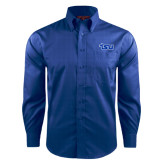 Red House French Blue Long Sleeve Shirt-TSU