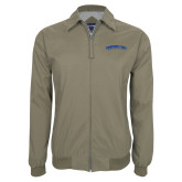 Khaki Players Jacket-Arched Tennessee State University