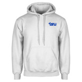 White Fleece Hoodie-TSU