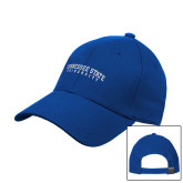 Royal Heavyweight Twill Pro Style Hat-Arched Tennessee State University