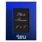 Royal Brushed Aluminum 3 x 5 Photo Frame-TSU Engraved