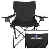 Deluxe Black Captains Chair-#BelieveInBlue