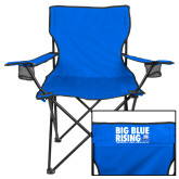 Deluxe Royal Captains Chair-Big Blue Rising