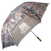 58 Inch Hunt Valley Camo Umbrella-Official Logo