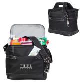 Precision Black Bottle Cooler-Thiel Logo