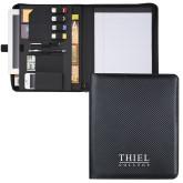Carbon Fiber Tech Padfolio-Thiel Logo