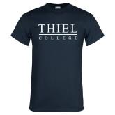 Navy T Shirt-Thiel Logo