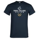 Navy T Shirt-Soccer