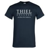Navy T Shirt-Alpha Psi Omega