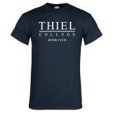 Navy T Shirt-Book Club