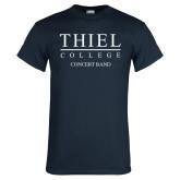 Navy T Shirt-Concert Band
