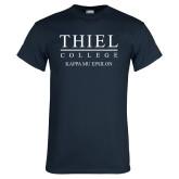 Navy T Shirt-Kappa Mu Epsilon