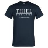 Navy T Shirt-Lambda Sigma