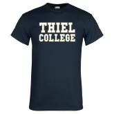 Navy T Shirt-Thiel College