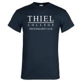 Navy T Shirt-Photography Club