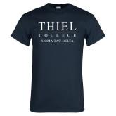 Navy T Shirt-Sigma Tau Delta