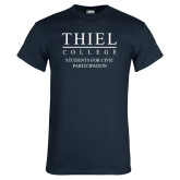 Navy T Shirt-Students for Civic Participation