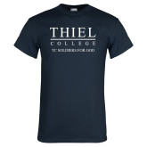 Navy T Shirt-TC Soldiers For God