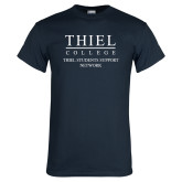 Navy T Shirt-Thiel Students Support Network